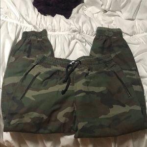 Aritzia TNA army pants